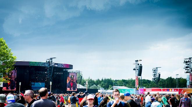 Le festival Rock Werchter a débuté avec des mesures de sécurité supplémentaires
