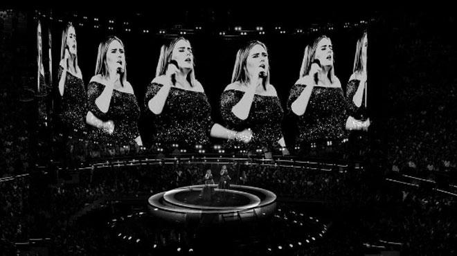 La chanteuse Adele annonce qu'elle va sans doute arrêter de chanter sur scène: