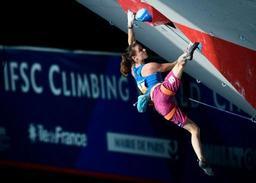 Euro d'escalade - Anak Verhoeven, 20 ans, sacrée championne d'Europe