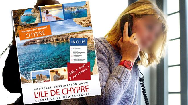 Sylvie pense avoir gagné un voyage gratuit à Chypre: chez le vendeur, on lui propose des meubles… et un voyage payant