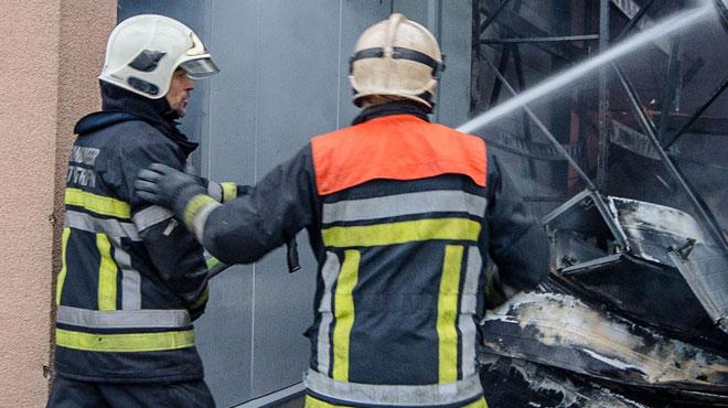 Un incendie ravage un snack à Jemeppe-sur-Meuse