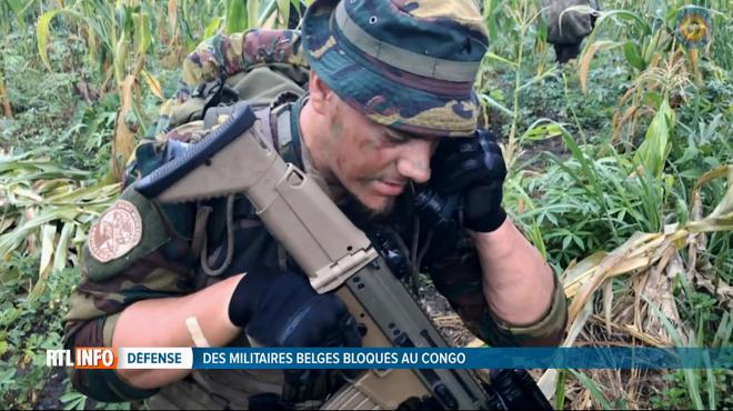 Affaire embarrassante: Kinshasa bloque le départ de soldats belges présents au Congo avec des armes et du matériel confidentiel