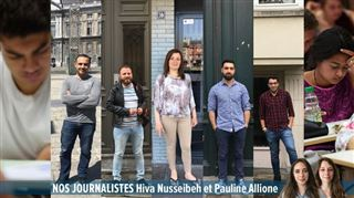 Que deviennent les réfugiés syriens en Belgique? 7 RENCONTRES pendant toute cette semaine
