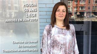 Houda, refugiée syrienne à Liège depuis 3 ans- La sécurité est la chose la plus importante