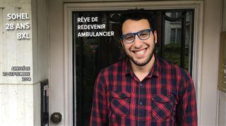 Sohel, refugié syrien à Bruxelles depuis 3 ans- Les gens sont plus fermés en Belgique qu'en Syrie