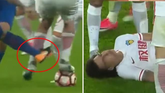 Axel Witsel victime d'une agression de la part de Carlos Tevez (vidéo)