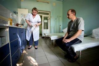 Ukraine- l'est rebelle face à un risque d'épidémie de VIH