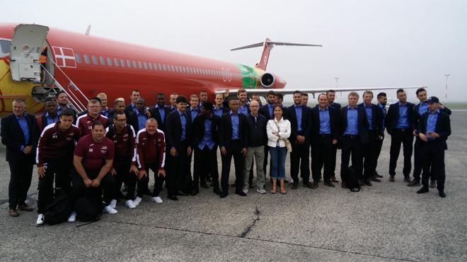 L'avion chargé d'emmener Ostende à Marseille est resté cloué au sol: