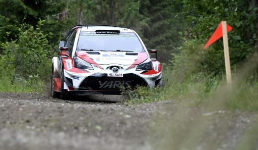 Rallye de Finlande: Latvala, sur Toyota, en tête à la mi-journée