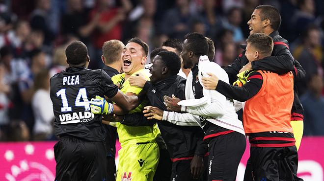 Ligue des champions: Nice réalise l'exploit sur la pelouse de l'Ajax et va en barrages