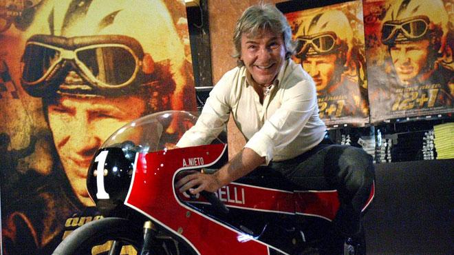 Angel Nieto, légende et ex-champion du monde de moto, est décédé quelques jours après avoir été victime d'un accident de quad