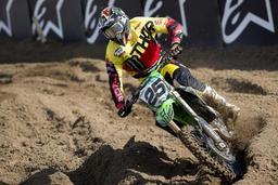 Championnat du monde de motocross - Clément Desalle prolonge de deux ans chez Kawasaki