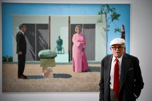 Affluence record pour David Hockney au Centre Pompidou
