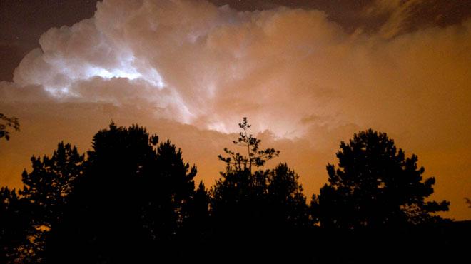 Comme annoncé, les orages ont frappé: ils étaient particulièrement violents dans la région de Mouscron