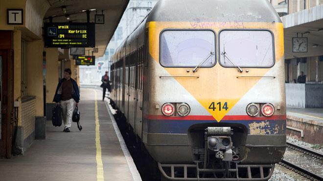 Trafic ferroviaire interrompu entre Leuze et Tournai