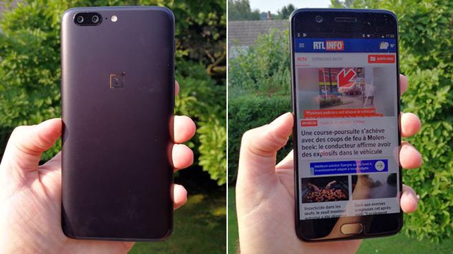 OnePlus 5: l'iPhone sous Android est enfin là, et il coûte 500€