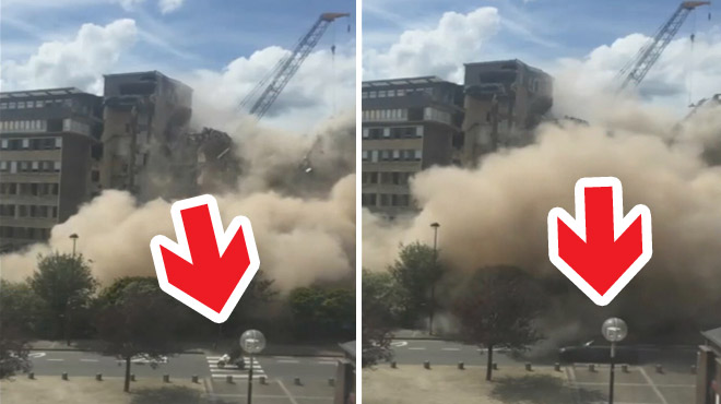 Effondrement de l'hôpital civil de Charleroi filmé en direct : mais pourquoi le trafic n'a pas été arrêté?