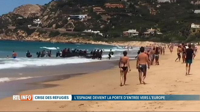 De nombreux migrants à bout de force débarquent sur les plages espagnoles: 120 autres n'ont pas eu la même chance cette année