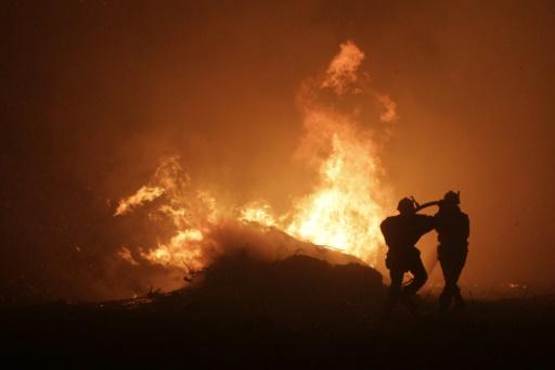 Incendie en Corse: 1.500 hectares parcourus, plus de 700 personnes évacuées