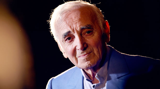 Charles Aznavour va recevoir son étoile sur le
