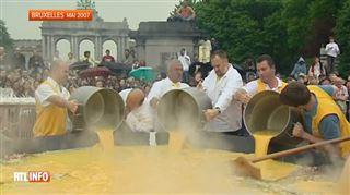 L'omelette géante de Malmedy sous surveillance particulière (vidéo)