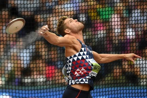 Athlétisme: Mayer conserve la tête après le disque au décathlon