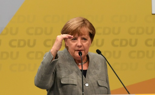 Merkel se lance dans l'