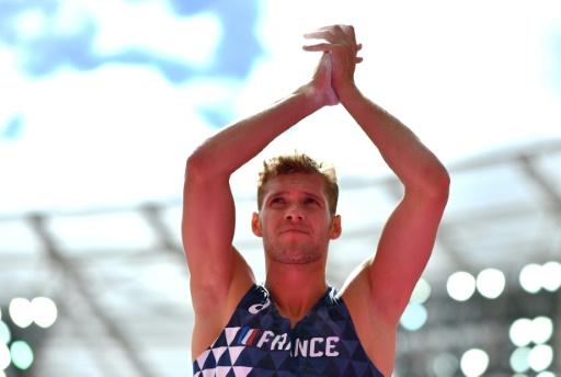 Athlétisme: Mayer tout proche du sacre mondial à Londres