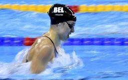 Coupe du monde de natation - Record du monde pour l'Espagnole Mireia Belmonte sur 400m 4 nages, Fanny Lecluyse 6e
