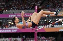 Mondiaux d'athlétisme - La Russe Maria Lasitskene conserve son titre de championne du monde à la hauteur