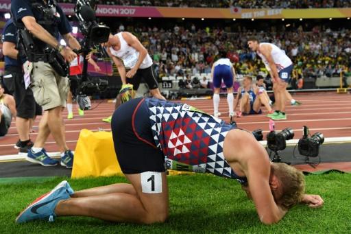 Athlétisme: Mayer, beau gosse mais bosseur