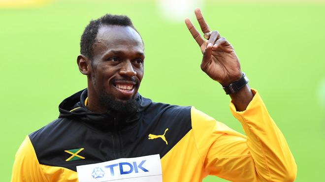 Les chiffres les plus fous de la carrière d'Usain Bolt