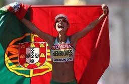 Inês Henriques gagne le premier 50km marche dames des Mondiaux grâce à un record du monde