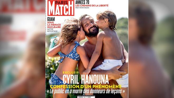 Cyril Hanouna pose avec ses enfants et défend TPMP,