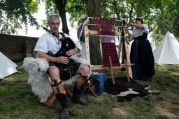 La ferme d'Hougoumont à l'heure écossaise ces 19 et 20 août