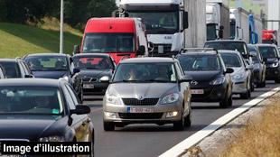 Accident sur l'autoroute E411 à hauteur de Louvain-La-Neuve: plusieurs véhicules impliqués