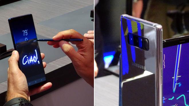 Samsung tourne la page explosive de son grand smartphone, mais le Galaxy Note 8 coûte... 999€