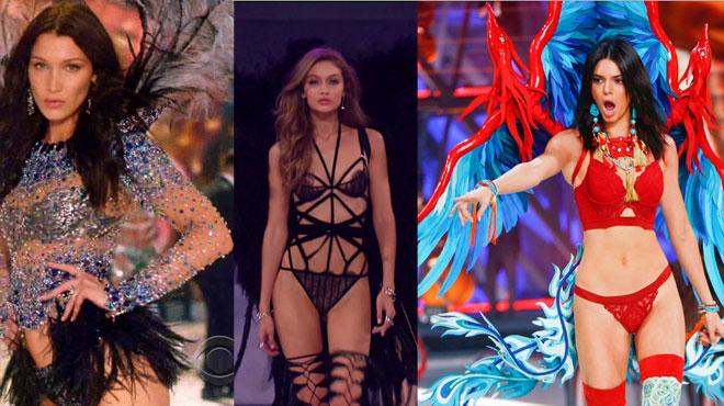 Les soeurs Hadid et Kendall Jenner, absentes du prochain défilé de Victoria's Secret?