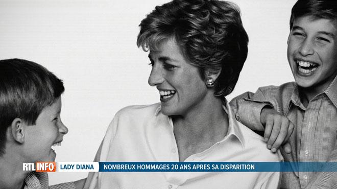Cela fait 20 ans que la princesse Diana est décédée: William et Harry lui rendent un sobre hommage