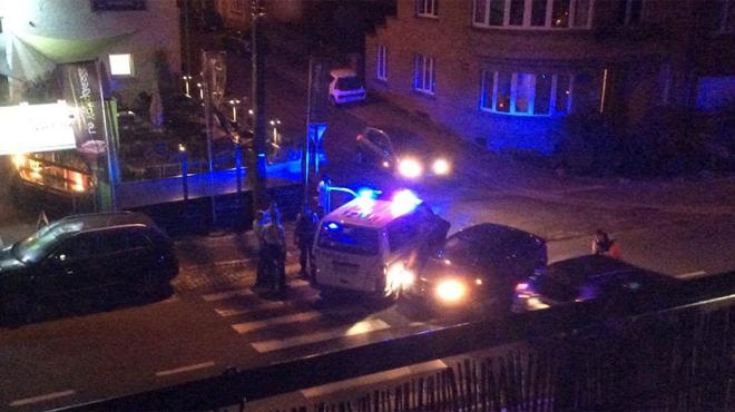 Qui doit dresser le constat quand un véhicule de police est impliqué directement dans un accident de la route?