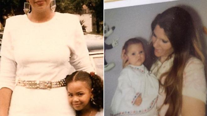 Ces deux stars ont posté des photos d'elles enfant avec leur maman: pourrez-vous les reconnaître ?