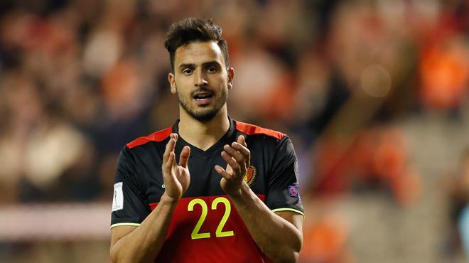 Mirallas et Chadli en tribunes contre Gibraltar pour un transfert... qu'ils n'ont pas obtenu!