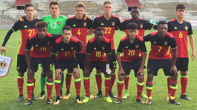 La Belgique U18 étrillée par la France