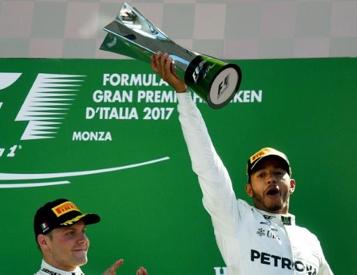 GP d'Italie: Hamilton (Mercedes) face à