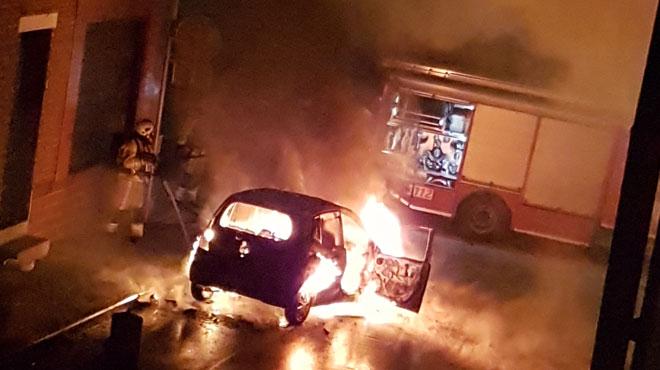 Une voiture incendiée cette nuit à Havré