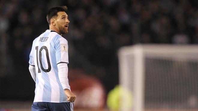 L'Argentine continue de se faire peur: la Coupe du monde 2018 se jouera-t-elle sans Messi?