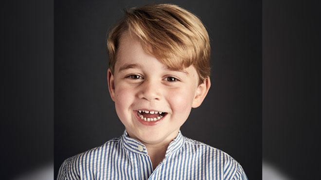 1er jour d'école pour le prince George : voici les images de son arrivée