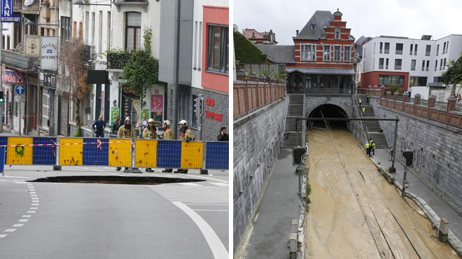 Trou dans la chaussée, rail inondé: mais pourquoi les canalisations d'eau cèdent-elles au moindre choc à Bruxelles?