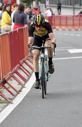 Tour d'Espagne - Floris De Tier espérait monter sur le podium