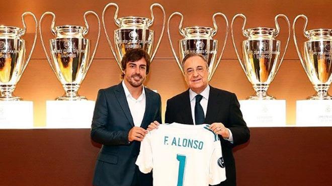 Que vient faire Fernando Alonso au Real Madrid?